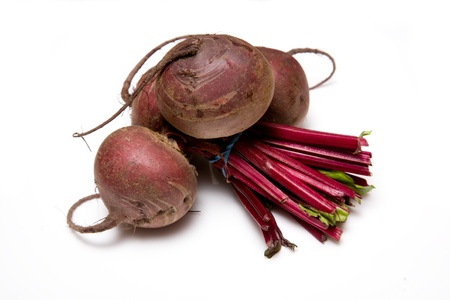 Beetroot isolated on a white background  photo