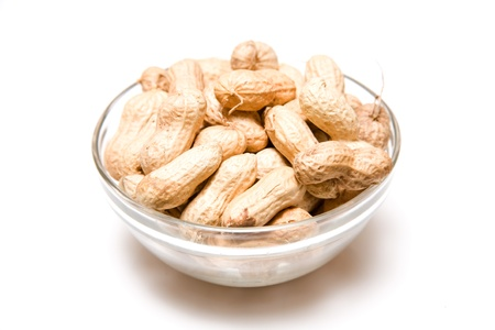 monkey nuts: Monkey nuts or ground nuts Stock Photo