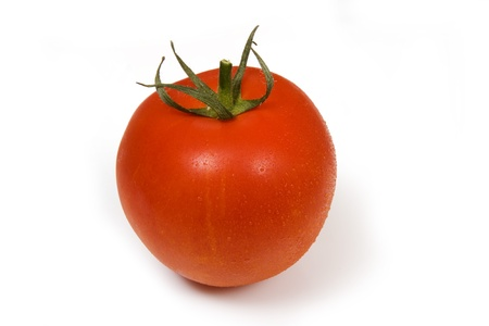 Tomato isolated on a white background  photo