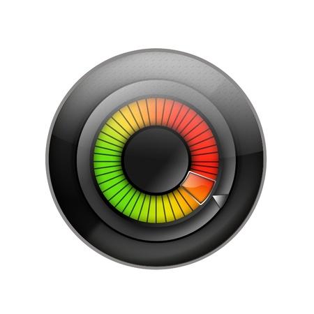 controlling: Volume control Stock Photo