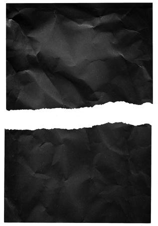 torn edges: Crumpled torn paper