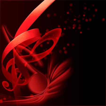 holiday music: Background Music Stock Photo