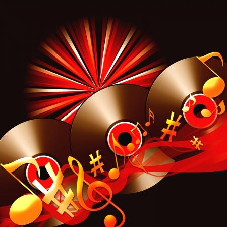disk jockey: Background Music Stock Photo