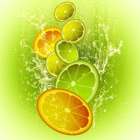 slices of lemon: CITRON MIX