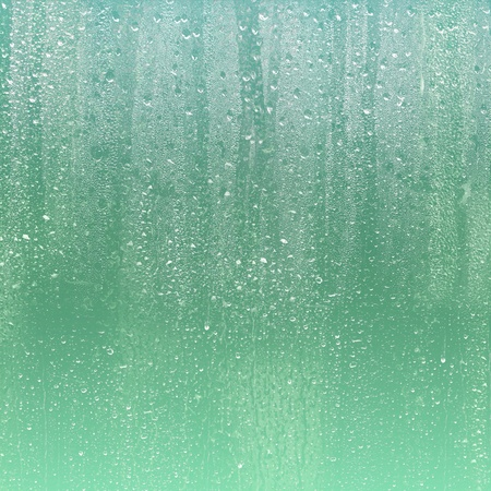RAIN DROPS ON GLASS Stock Photo - 9301690