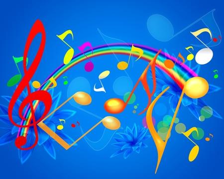 MUSICAL SUMMER WALLPAPER