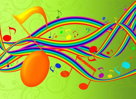 MUSICAL BACKGROUND photo