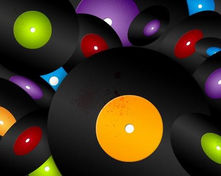Vinyl Records Stock Photo - 9624859