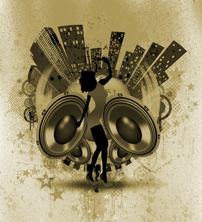 MUSICAL WALLPAPER photo