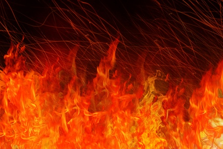 FIRE BACKGROUND Stock Photo - 9770139