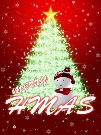 congratulating: CHRISTMAS CONGRATULATING CARD Stock Photo
