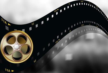 cinema background: FILMSTRIP BACKGROUND
