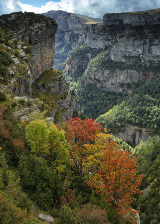 Spain, Ordesa National Park, Anisclo Canyon