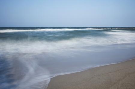 stormy waters: Germany, Mecklenburg-Western Pomerania, Fischland-Darss-Zingst, Baltic Sea