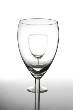 conformance: Two wine glasses