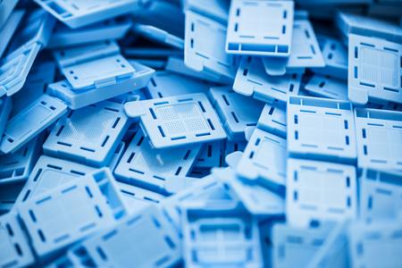 Embedding cassettes for histological examination
