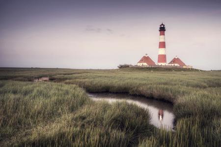 dwelling mound: Germany, North Frisia, Westerhever, lighthouse