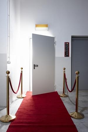 galas: Red carpet in front of open door LANG_EVOIMAGES
