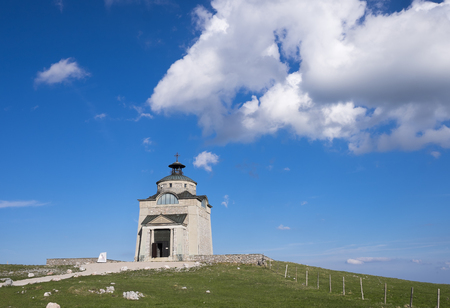 Austria, Lower Austria, Vienna Alps, Puchberg am Schneeberg, Empress Elisabeth Memorial Church on Schneeberg mountain
