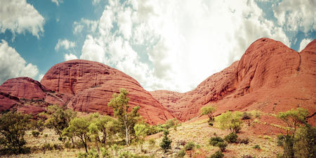 olgas: Australia, Northern Territory, Yulara, Kata Tjuta, the Olgas