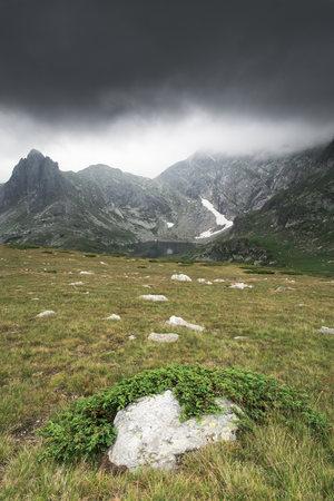 secluded: Bulgaria, Rila mountain range, scenery