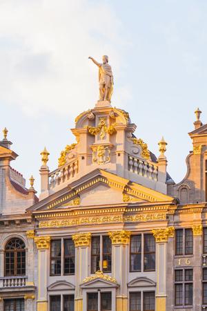 Belgium, Brussels, Maison de la Chaloupe dOr