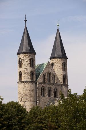 Germany, Magdeburg, Unser Lieben Frauen Monastery