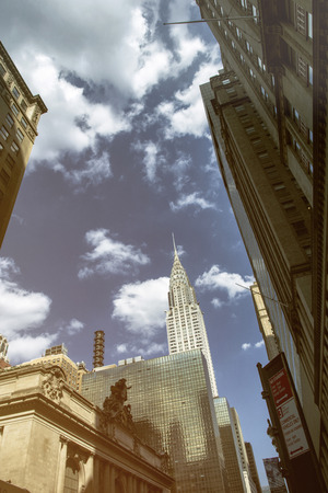 USA, New York City, Empire State Building and Grand Central Station LANG_EVOIMAGES