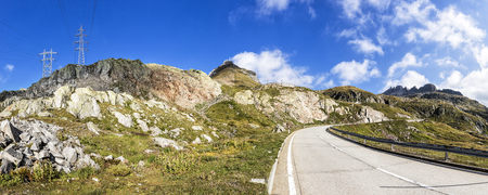 panoramas: Switzerland, Tessin, view to Nufenen Pass LANG_EVOIMAGES