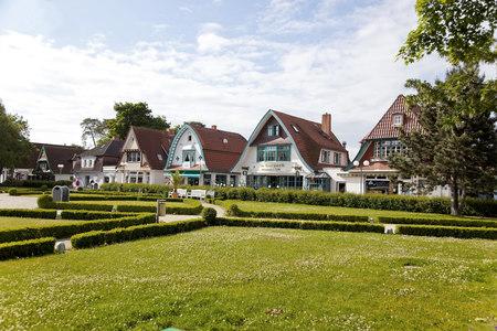 mecklenburg western pomerania: Germany, Mecklenburg-Western Pomerania, Boltenhagen, houses