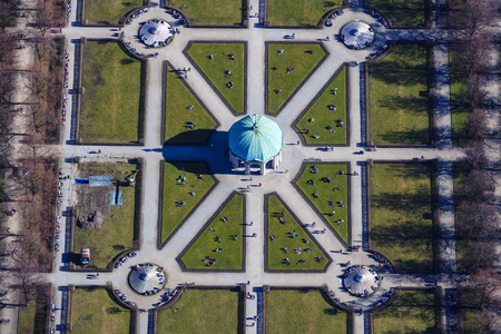 residenz: Germany, Bavaria, Munich, Hofgarten, Court Garden with Diana Temple
