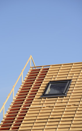 Germany, construction, roof truss