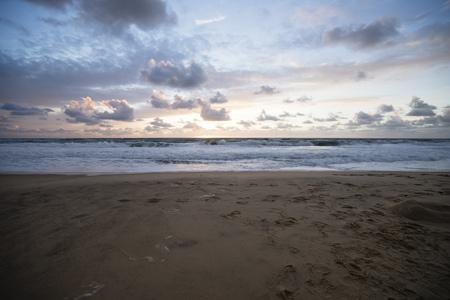 lighted: France, Lacanau Ocean, sunset LANG_EVOIMAGES