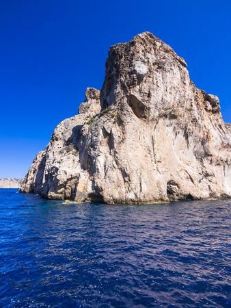 mallorca: Spain, Mallorca, Cliff coast near Cap des LLamp LANG_EVOIMAGES
