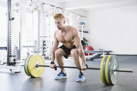 motivations: Physical athlete weightlifting
