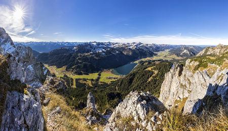 Austria, Tyrol, Tannheim Valley in autumn