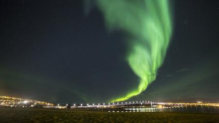 Norway, Tromso, Northern lights