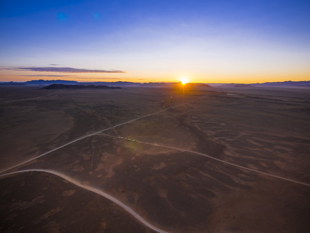 Africa, Namibia, Hardap, Hammerstein, Kulala Wilderness Reserve, Tsaris Mountains, Sossusvlei Region, Namib desert at sunset LANG_EVOIMAGES