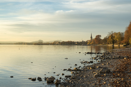 Germany, Lake Constance, Radolfzell in autumn