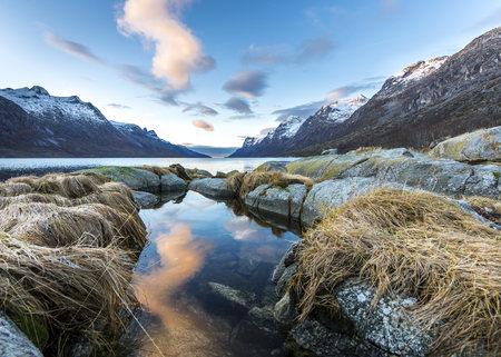 esbjerg: Norway, Troms, Esbjerg, fjord
