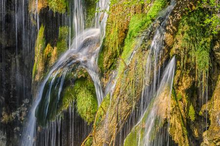 Croatia, Plitvice National Park, Waterfall LANG_EVOIMAGES