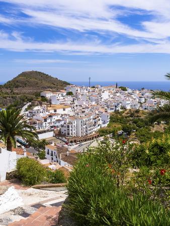 Spain, Andalusia, Costa del Sol, View of Frigiliana