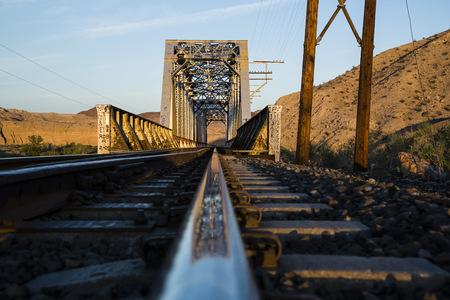 nevada: USA, Nevada, Rails in the desert