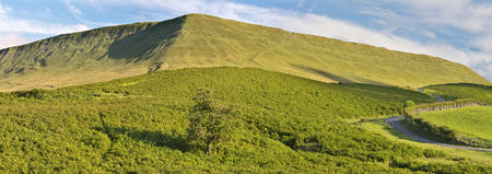 brecon beacons: UK, Wales, Brecon and Beacons National Park, Hay Bluff hill