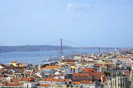 lighted: Portugal, Lisbon, cityscape LANG_EVOIMAGES