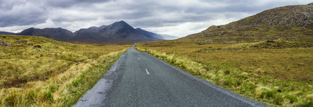 Ireland, Country road in Connemara