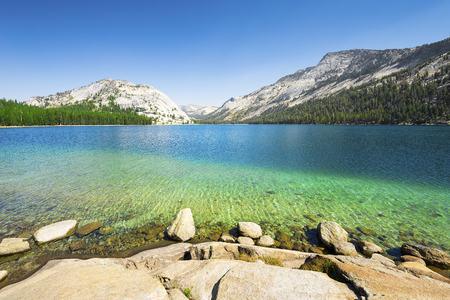 nevada: California, mountain lake, Yosemite National Park
