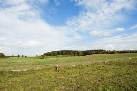Germany, Fields In Bavaria