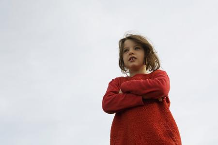 Girl (7-9), Portrait LANG_EVOIMAGES