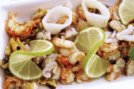 citrons: Seafood Salad